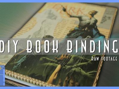 DIY Book Binding - Supplementary Footage