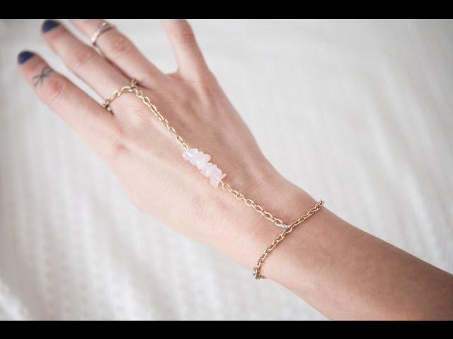 DIY chain hand piece, 3 designs