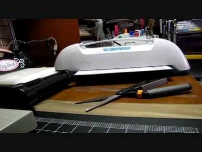 DIY Cling Rubber Stamp Storage Sheet