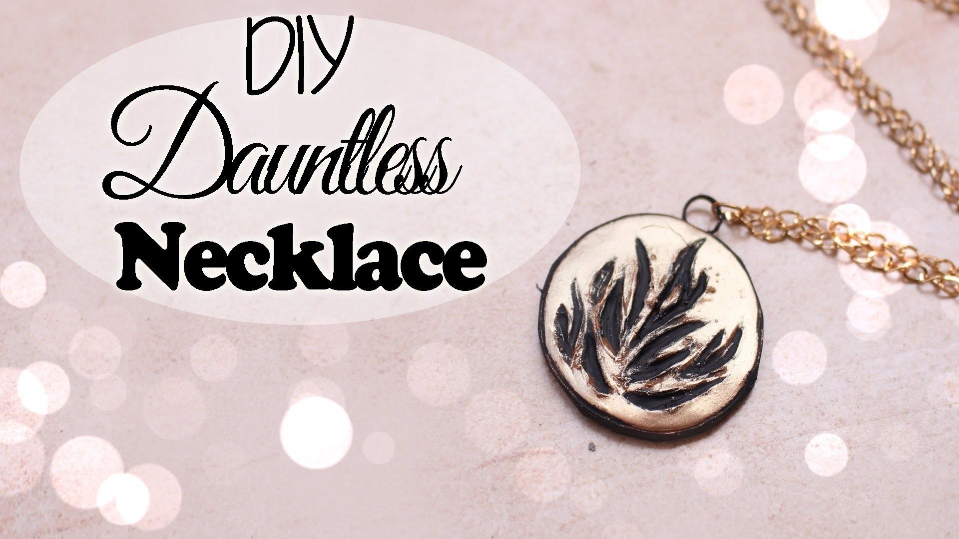 DIY Dauntless Necklace ● Polymer Clay Tutorial