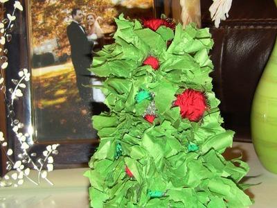 DIY mini Christmas tree decorations!!☃