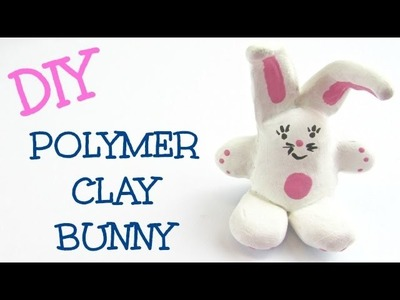 DIY Polymer Clay Bunny Craft Klatch