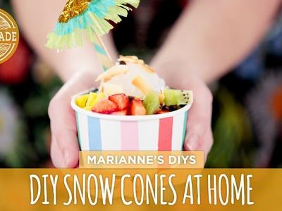 DIY Snow Cones at Home - HGTV Handmade