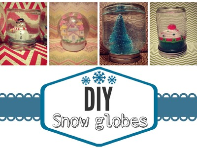 DIY Snow Globes  Owlbeteen