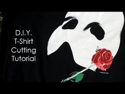 DIY T-SHIRT CUTTING TUTORIAL