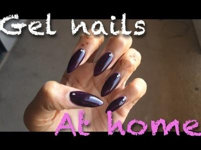 Do your nails at home!   DIY: gel nail polish tutorial