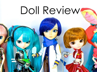 Doll Review: Pullip Vocaloid | Plus Quick Craft Doll Cell Phone