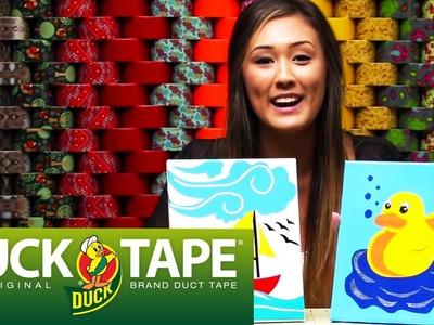 Duck Tape Crafts: How to Make Layered Artwork with LaurDIY