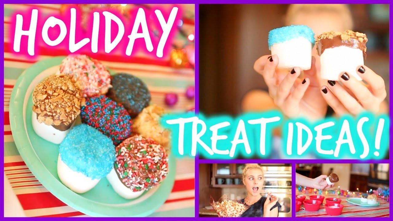 Easy & Fun DIY Holiday Treat Ideas! | Aspyn Ovard