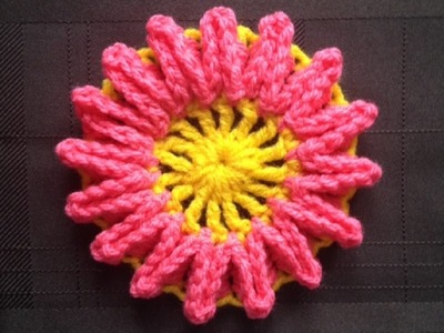 How to Crochet a Flower Pattern #27 │by ThePatterfamily
