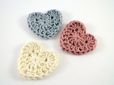 How to Crochet a Heart Left Hand