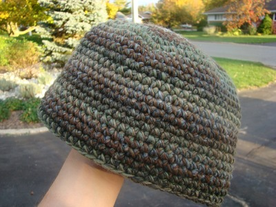 How To Crochet Beanie Hat