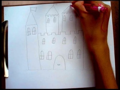 How to Draw a Castle Part1
