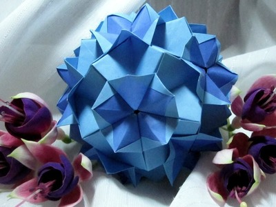 How to fold: Kusudama Bromelias by Isa Klein + Variation!