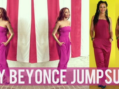 How To Make a Jumpsuit Inspired by Beyonce | DIY Clothes