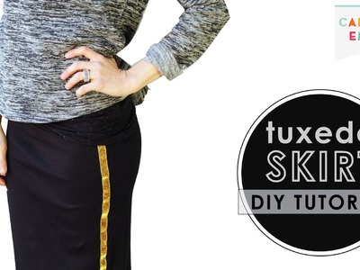 How to Make a Tuxedo Skirt - DIY Ribbon Tutorial