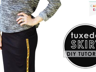 How to Make a Tuxedo Skirt - DIY Ribbon Tutorial