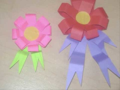 How to make an award first prize flower or ribbon - EP