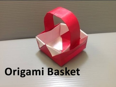 How to make an Origami Basket