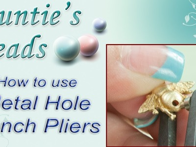 Karla Kam - How to use Metal Hole Punch Pliers