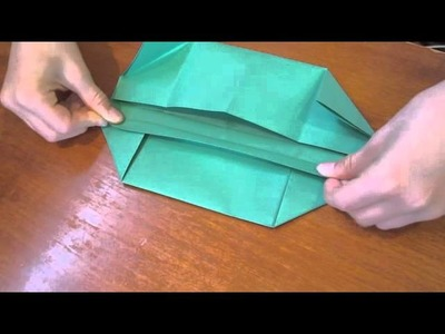 Kids Crafts - Easy Origami Storage Box