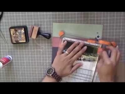 Lay Out Process Episodio # 17 - Scrapbooking Lay Out.  Viene de Scrap Tips Publicado 06.08.2014