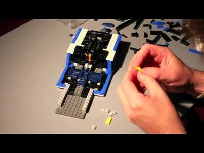 Lego Lamborghini Time Lapse Build