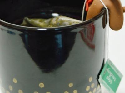 Make a Cute Clay Rudolph Tea Bag Holder - DIY Crafts - Guidecentral