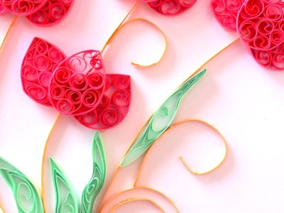 Make Delicate Quilled Lotus Flowers  - Crafts - Guidecentral
