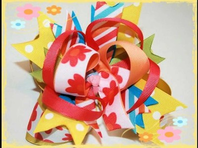 More hairbow design ideas for ya : )