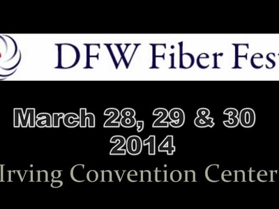 My crochet classes offered at 2014 DFW Fiberfest