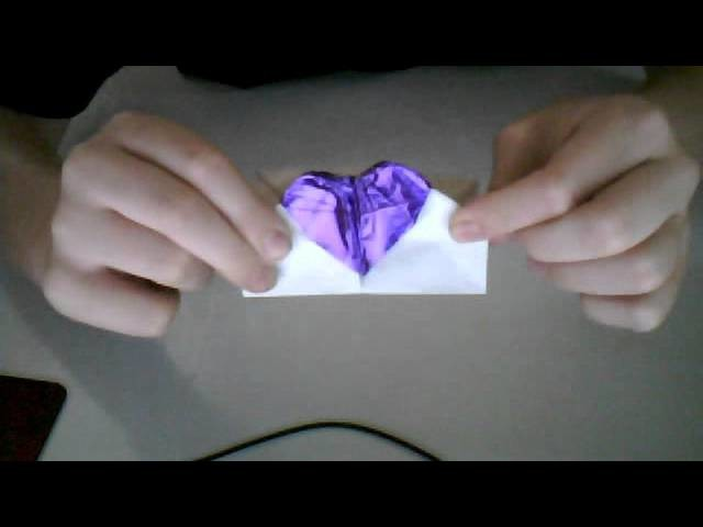 Origami Beating Heart Card Jeremy Shafer