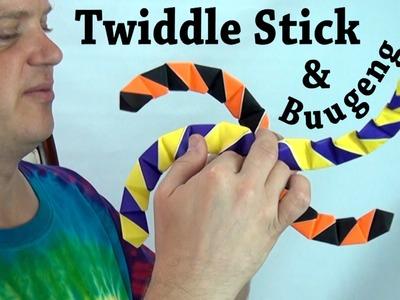 Origami Twiddle Stick & Buugeng