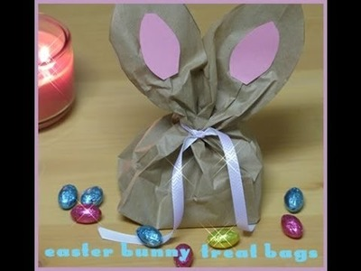 Paper Bag Easter Bunny Craft | DIY Paper Gift Bag Idea | Easter Craft For Kids