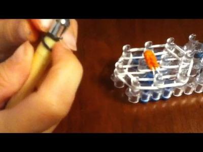 Rainbow loom Disney Olaf or snowman head