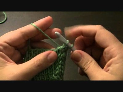 Repairing dropped Tunisian crochet stitches.wmv