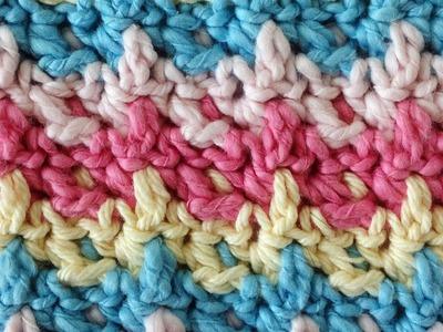 Rickrack Free Crochet Pattern - Right Handed