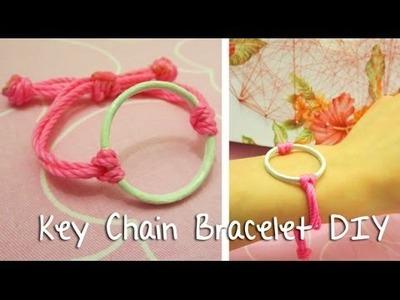[Sunny DIY] Cute Keychain Bracelet DIY- Great Gift Idea