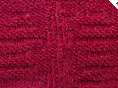 The Dutch Pyramid Stitch :: Knitting Stitch #521 :: Right Handed
