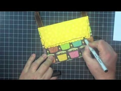 #159 - Envelope Purse Goodie Bag