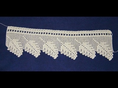 (3) Towel Lace Crochet Edge Patterns Models Designs New Trends