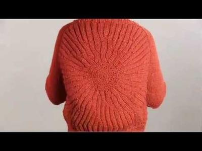 #6 Medallion Jacket, Vogue Knitting 2008.09