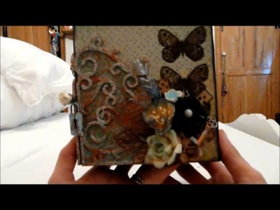 Altered 'House' Tissue  Box (Using Kaiser Craft  75 Cents Paper) - Kelly S