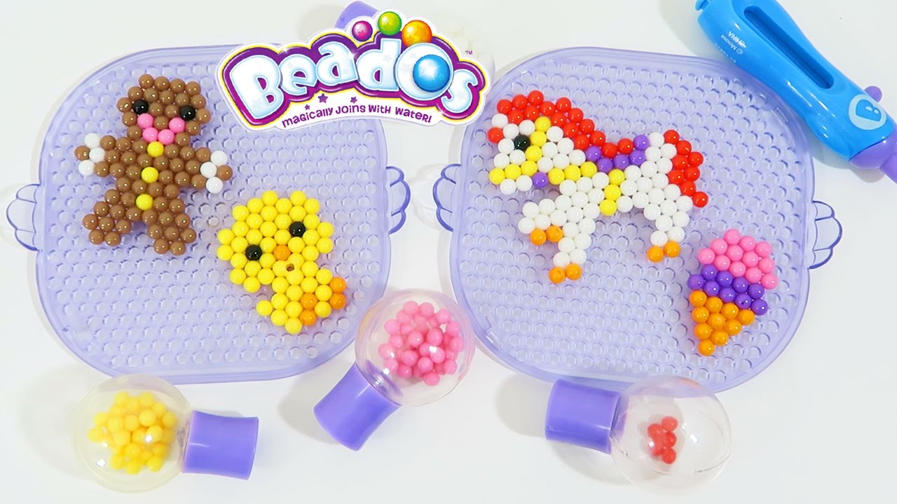 Beados Starter Kit Playset | Easy DIY Make Your Own Magic Beads Animal & Play Shapes!