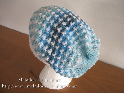 Birds of a Feather Slouch Hat Pt 2 - Left Handed Crochet Tutorial