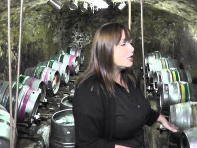 Changing a barrel cask at Ye Olde Trip To Jerusalem