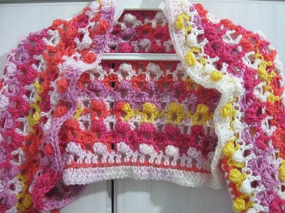 Crochet Bolero Jacket - Free Explanation Pattern