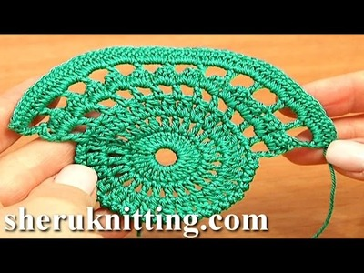 Crochet Lace Tape Pattern Tutorial 9 Part 1 of 2 Lace Crochet