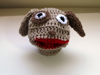 #crochet puppy hand puppet (Marioneta de perrito) - Video 3 (Final)