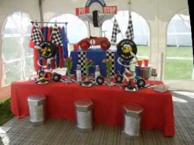 DIY Cars party decorating ideas